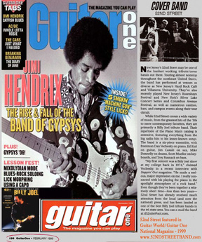 Guitar One Danny V Article